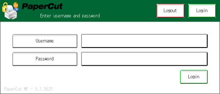 在Nashuatec MFD使用用戶名稱和密碼認證