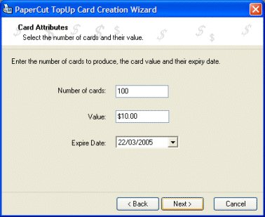 輸入充值卡/儲值卡細節