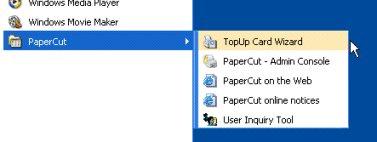 充值卡/儲值卡軟件在Windows開始功能表