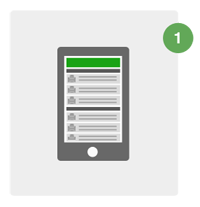 在智能手機上登錄到PaperCut列印審批應用程序
