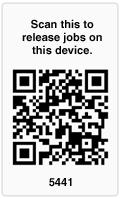 支援QR碼作印表機搜尋