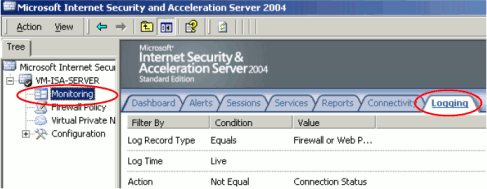 Appendix D  Proxy server configuration